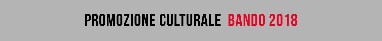 Promozione culturale i bandi 2018